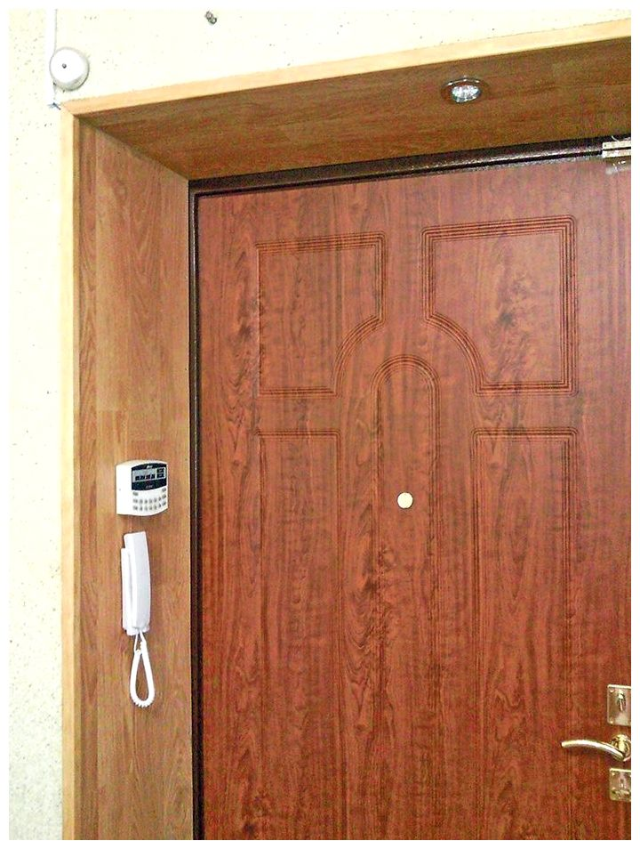 Своими руками ламинат у двери